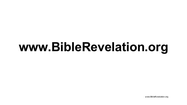 www.BibleRevelation.org www.BibleRevelation.org
