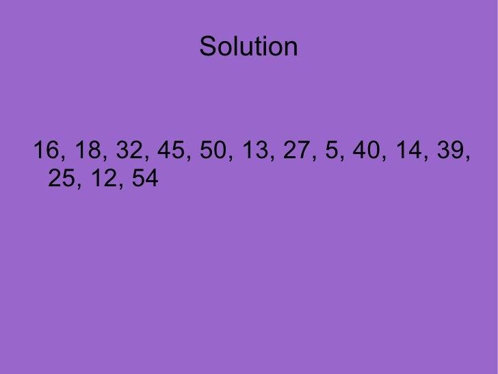 Numbers Slide 2