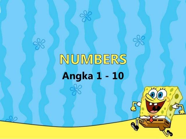 Angka 1 - 10