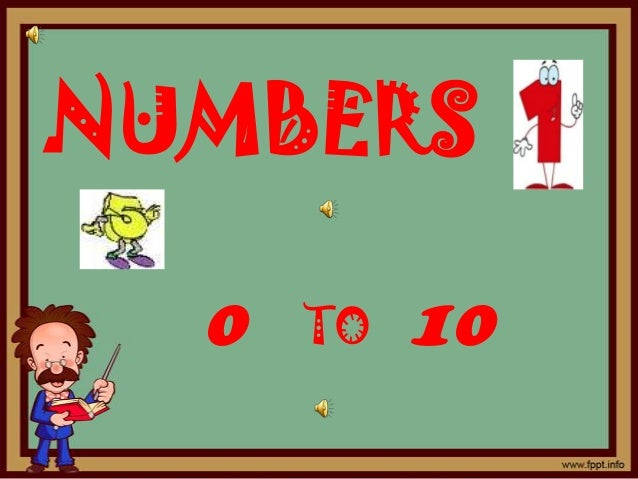 NUMBERS  0   TO   10