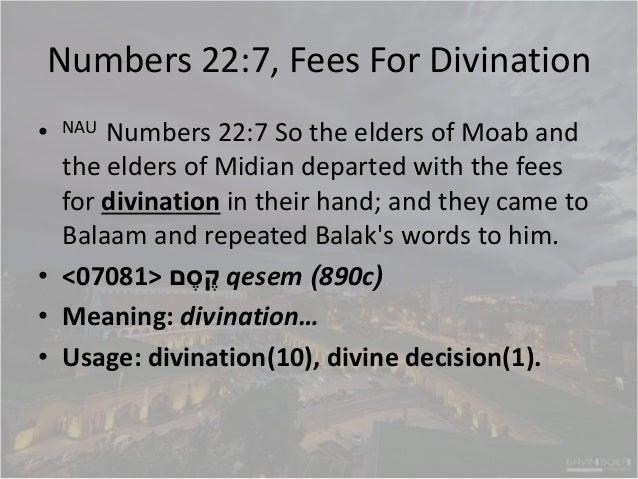 Numbers 21-22, Fiery serpents, salvation is simple