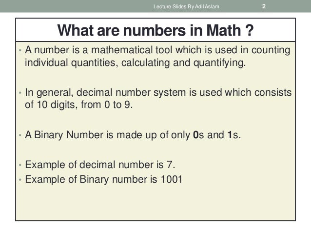 Image result for what are numbers