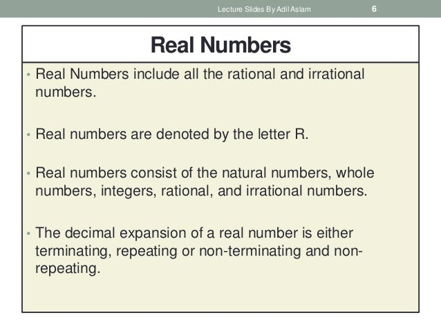 Numbers And Its Types In Mathematics