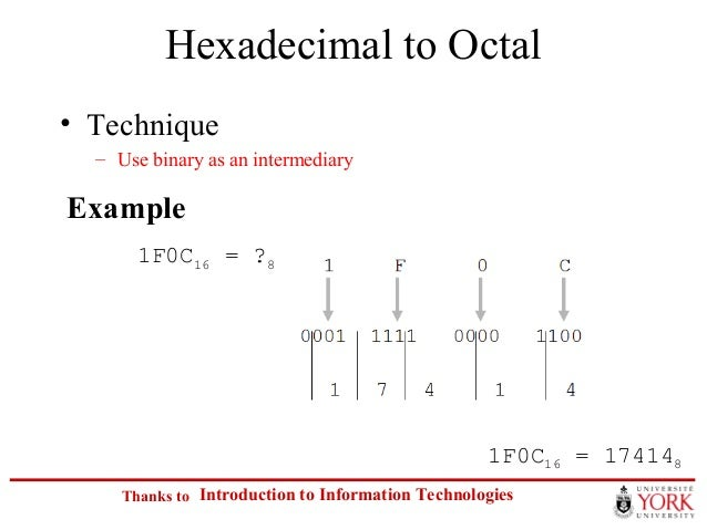 convert decimal to binary hex and octal