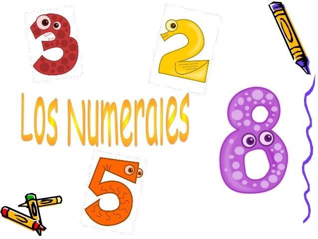 Los NumeralesSon una clase de palabras que indican una cantidadde personas o cosas o el lugar que ellas ocupan enusa serie...