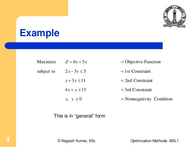 objective function vs constraints in linear programming essay Objective summary for mk essay a custom essay sample on objective summary for mk for only $1638 $139/page order now related essays objective function vs constraints in linear programming high school.