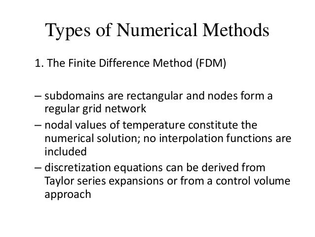numerical methods Linear algebra: numerical methods version: august 12, 2000 60 5 numerical computation of eigenvalues the second basic problem of linear algebra is to compute the eigenvalues and eigenvectors of.