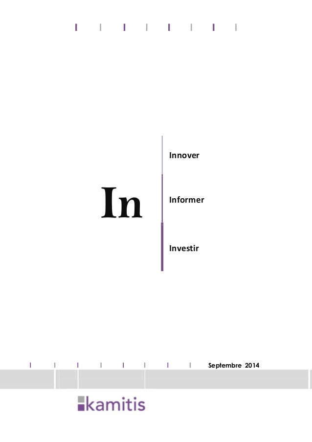 In Innover Informer Investir Septembre 2014