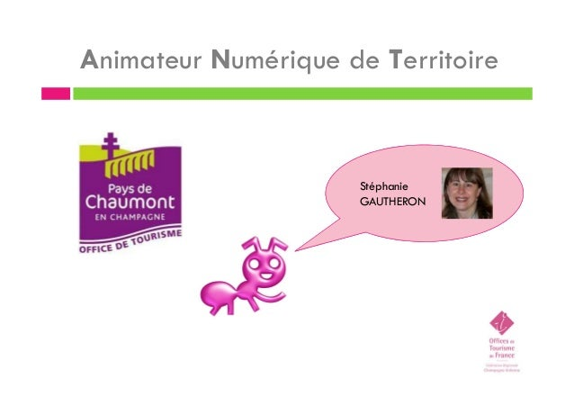 Animateur Numérique de Territoire Stéphanie GAUTHERON