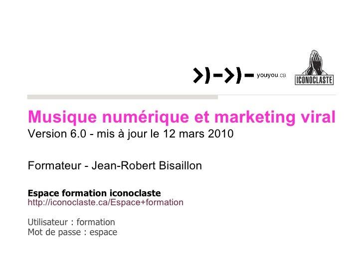 Formateur - Jean-Robert Bisaillon Espace formation iconoclaste http://iconoclaste. ca/Espace +formation   Utilisateur : fo...