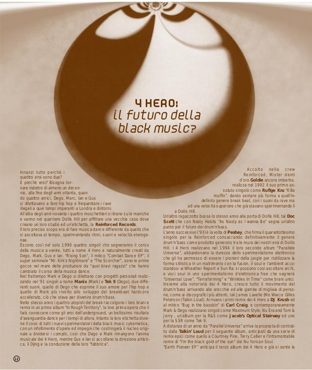 4 HERO:                                                          il futuro della                                          ...