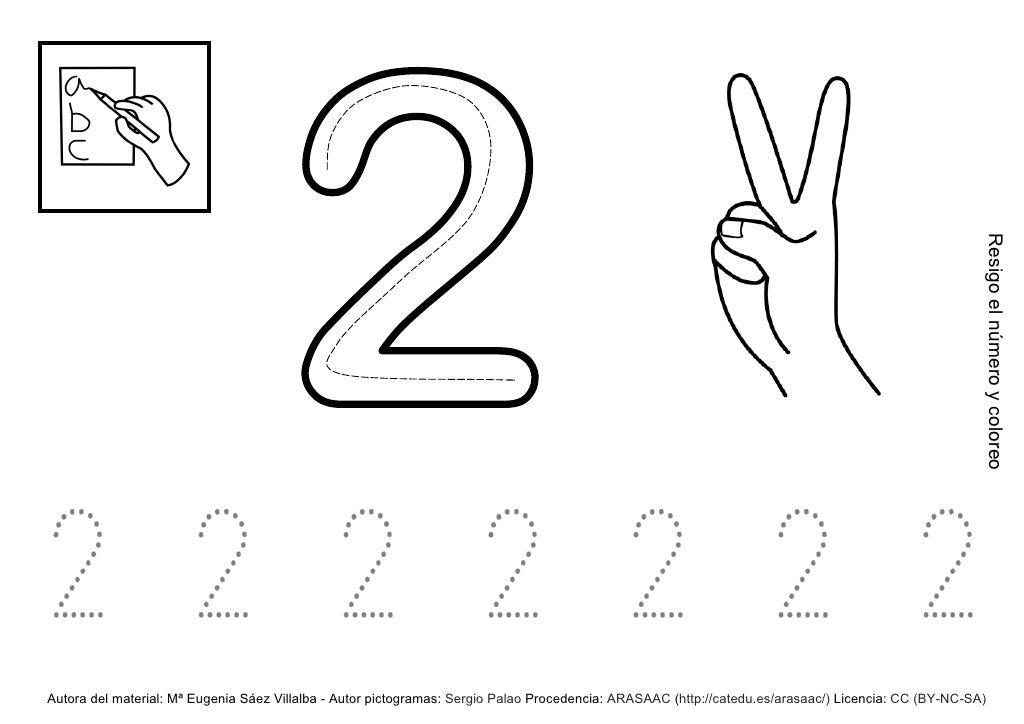 Numero 10 Con Imagenes: Numero 2