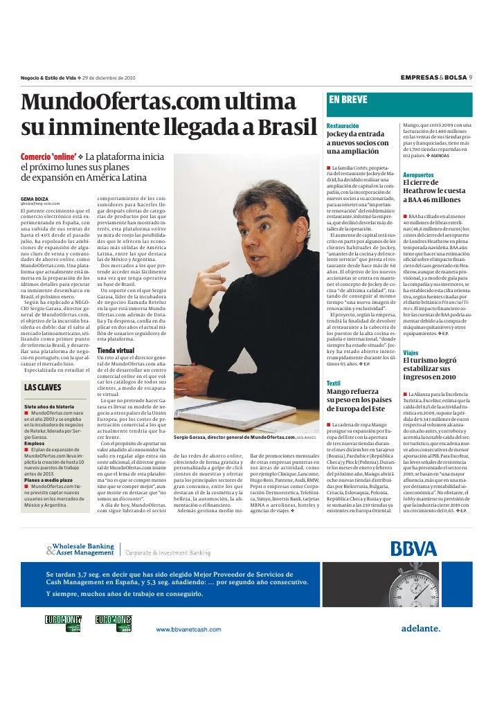 Negocio & Estilo de Vida      29 de diciembre de 2010                                                                     ...