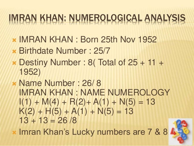 Indian lucky numbers numerology picture 3