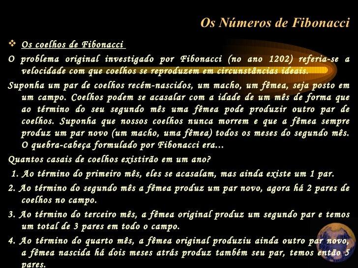 Numeros de Fibonacci Slide 2