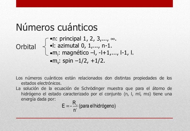 Números cuánticos <ul><li>Orbital </li></ul><ul><li>Los números cuánticos están relacionados don distintas propiedades de ...