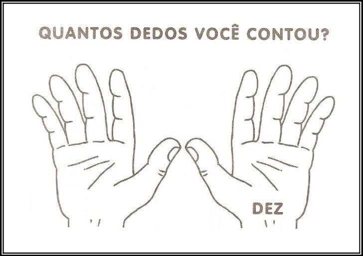 Numeros das mãos