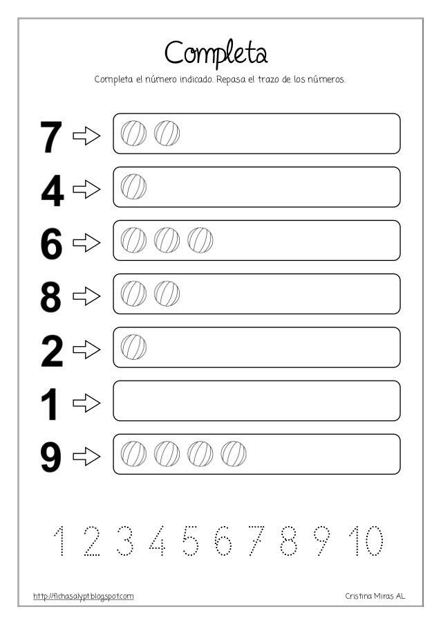 Fantástico Hojas De Trabajo Para Colorear Números Friso - Dibujos ...