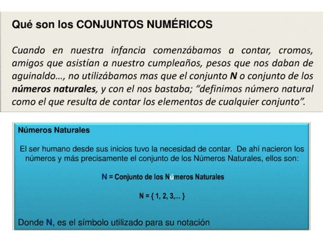Características de los Números Naturales