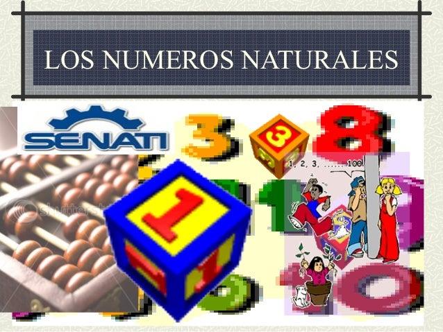 LOS NUMEROS NATURALES