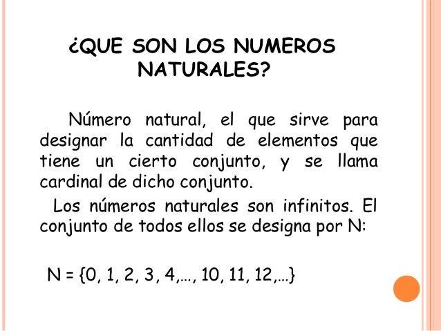 Numeros Naturales Y Propiedades
