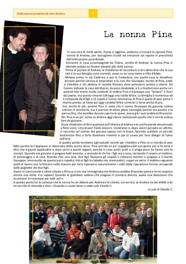 Ordinazione presbiterale don Andrea                          6                                                            ...