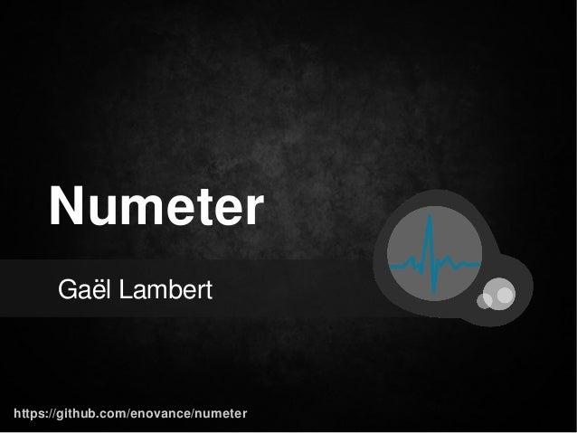 Numeter Gaël Lambert  https://github.com/enovance/numeter