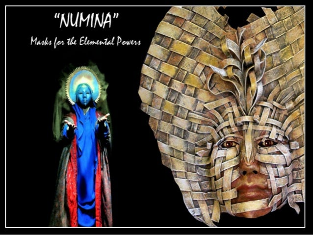"Numina: ""An indwelling intelligence or power felt in a particular place, or in the whole world...... The origins of the Ro..."