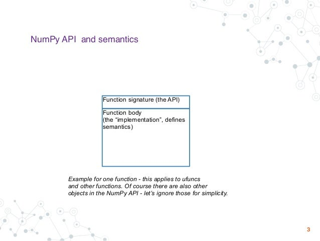 __array_function__ conceptual design & related concepts Slide 3