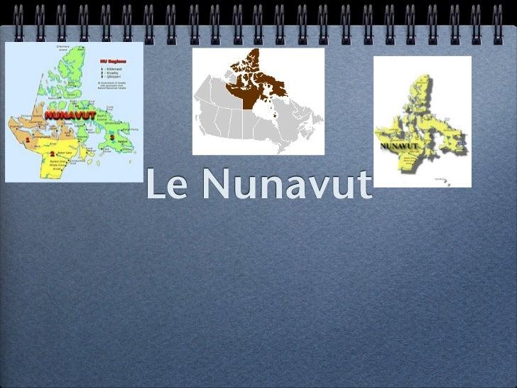 Le Nunavut