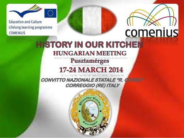 """CONVITTO NAZIONALE STATALE """"R. CORSO"""" CORREGGIO (RE) ITALY"""