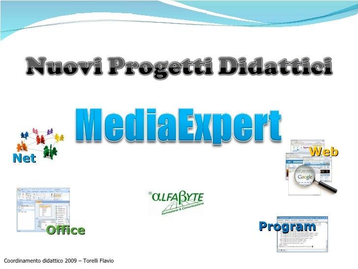 Net Office Web Program Coordinamento didattico 2009 – Torelli Flavio