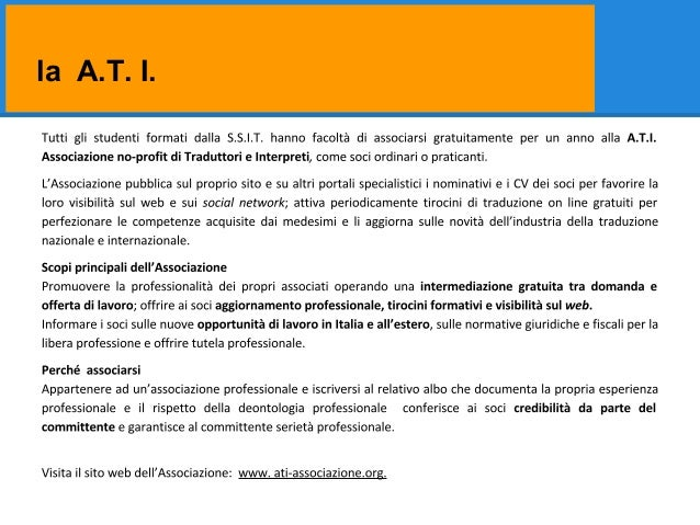 la A.T. I.