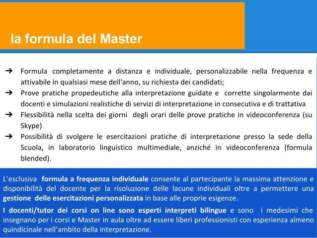 la formula del Master ➔ ➔ ➔ ➔
