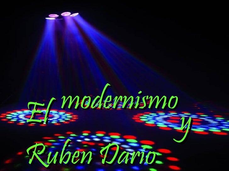 modernismo El y Ruben Dario