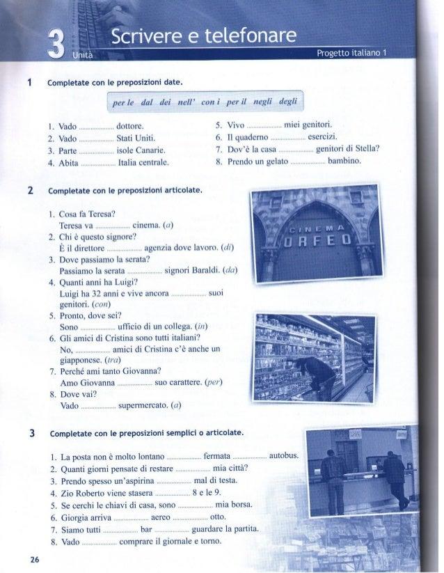 nuovo progetto italiano 1 quaderno degli esercizi pdf free download