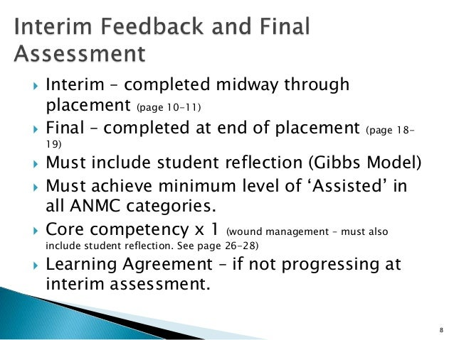 reflection on clinical placement Reflection on a critical incident essay - the objective of this assignment is to explore and reflect upon a situation from a clinical placement.