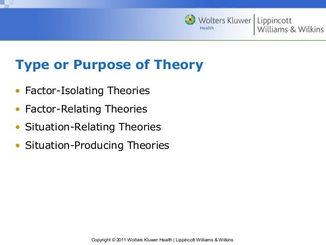 Common factors theory