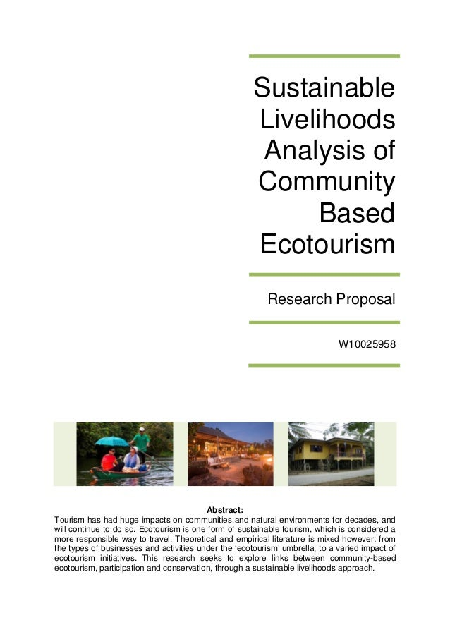 "term paper ecotourism Free essays volunteer tourism essay the organization does not result in creation of long-term ecotourism as ""a form of tourism that."