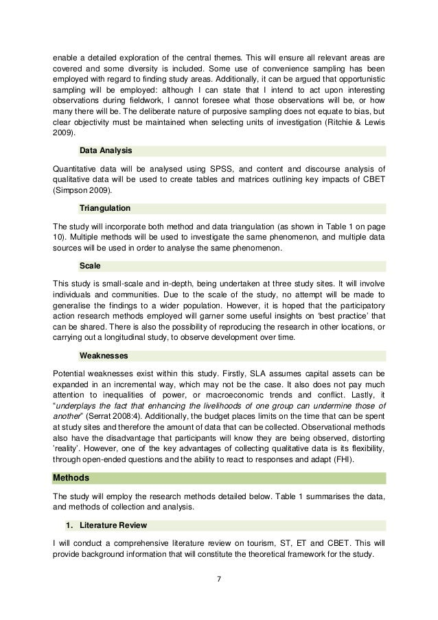 ecotourism thesis statement To view pdf files of selected project posters, simply click on the title of the thesis project enlarging may be for best viewing (around 30% works nicely for standard computer screens) file sizes may be rather large (2-6 mb) and may take longer to load over slower internet connections.