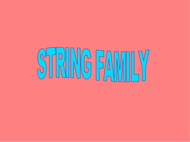 Is the most popular instrumentin the string family.