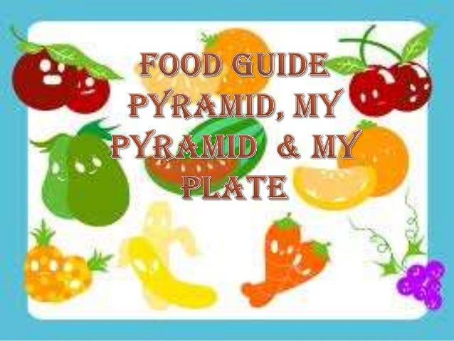  The Food Pyramid, developed by the US Department of Agriculture (USDA), is an excellent    tool to help you make healthy...