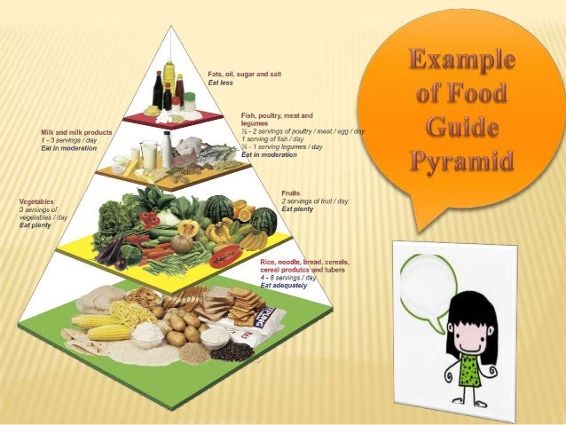 My Plate, My pyramid and food guide pyramid
