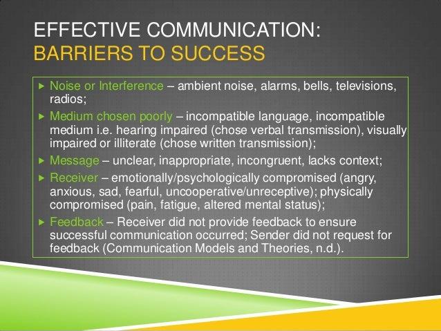 Effective Communication In Nursing Homes