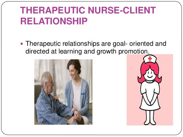 nurse client therapeutic relationship cnooc