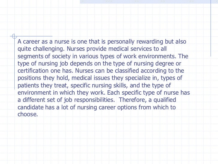 Nurse job description – Rn Job Description