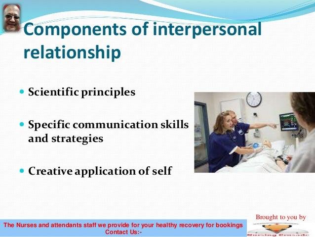 nurse patient relationship Communication is the cornerstone of the nurse–patient relationship the focus of communication in the nurse–patient relationship is the patient's needs.