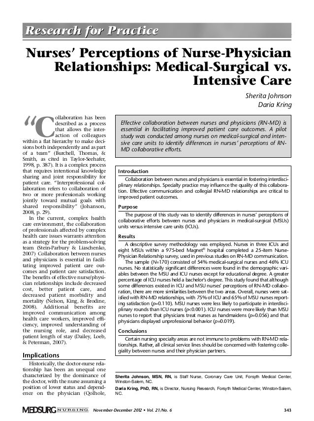 physician and nurse practitioner relationship