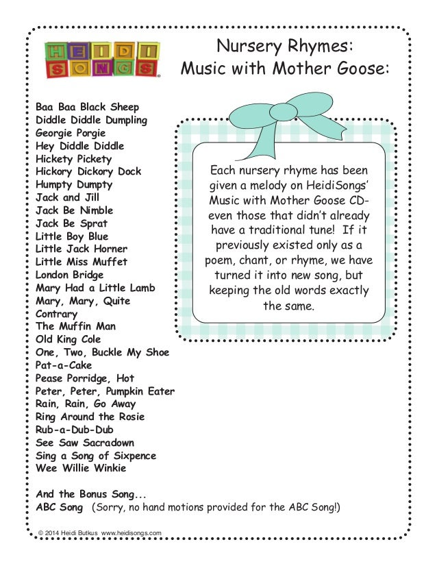 Lyric learning to lean lyrics : 28 Nursery Rhymes with Words and Movements for Active Learning