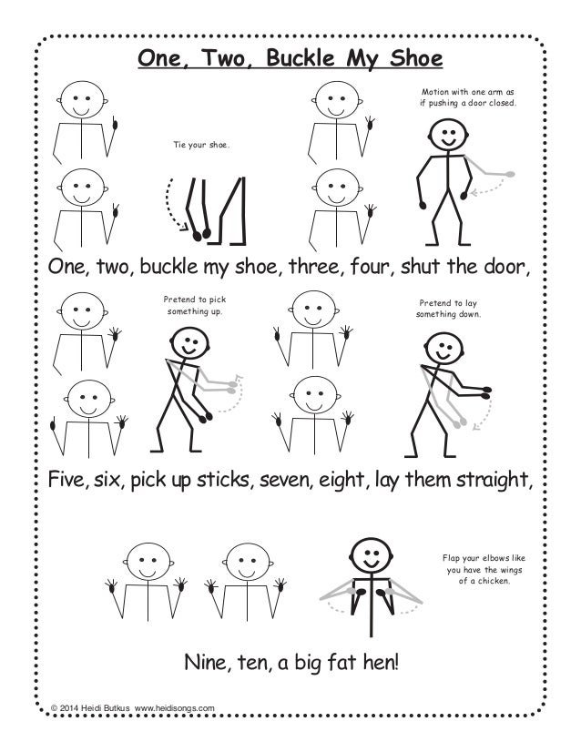 image regarding One Two Buckle My Shoe Printable referred to as 28 Nursery Rhymes with Text and Actions for Occupied Finding out